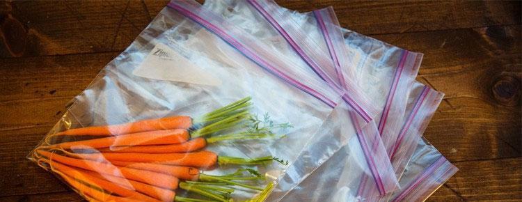 Túi zipper đựng thực phẩm an toàn cho sức khỏe