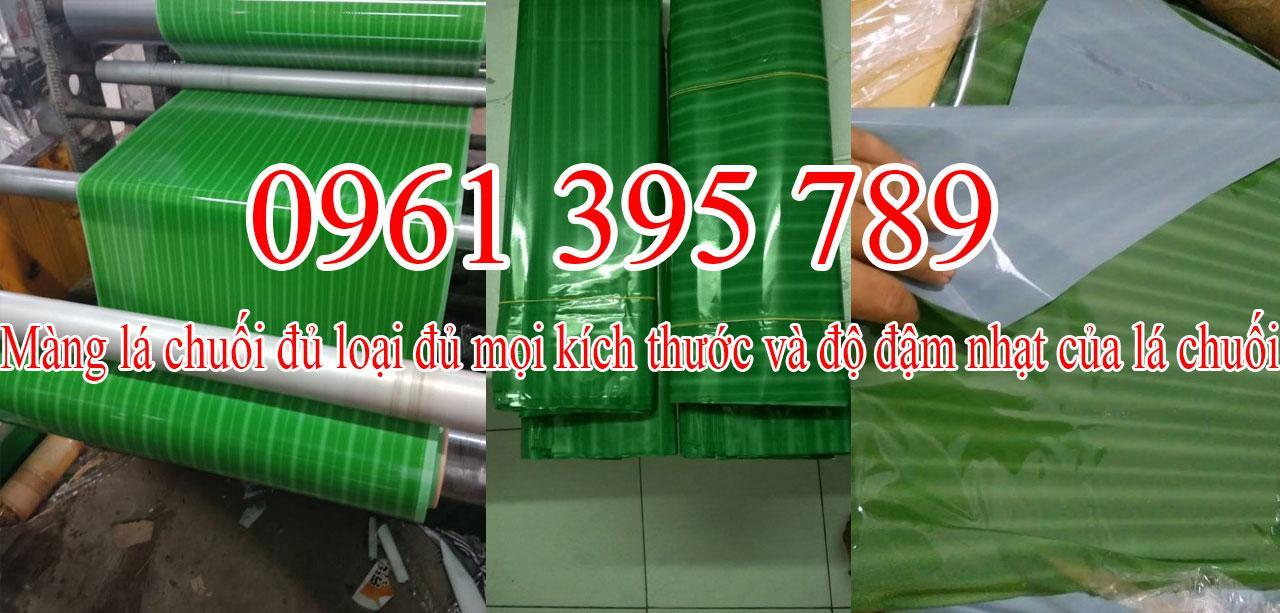 Lá chuối giả  - đơn vị cung cấp phân phối màng lá chuối giả chất lượng