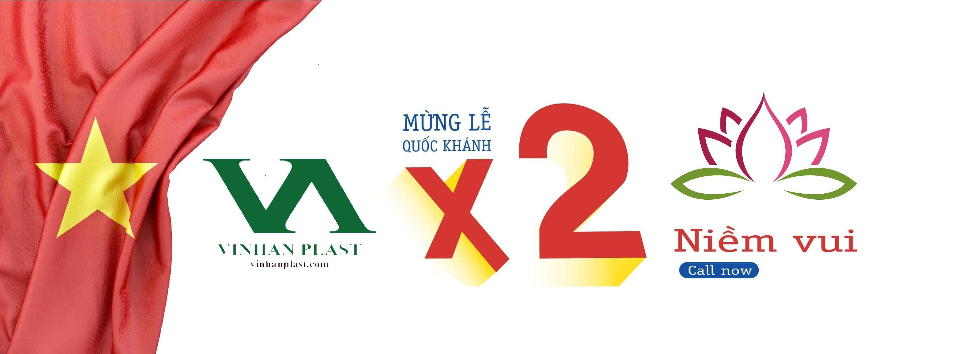 Công ty TNHH Vinh An Plast chúc mừng Quốc Khánh 2/9/2020