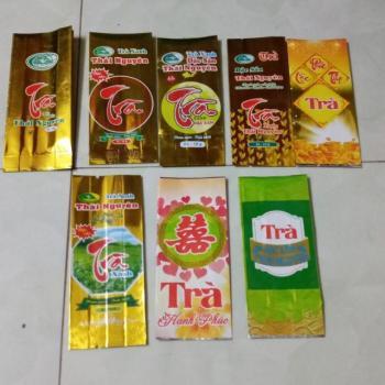 Túi đựng trà hút chân không 10gram tại Hà Nội